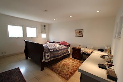master bedroom midcentury modern
