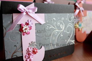 Handmade Thankyou appreciation cards