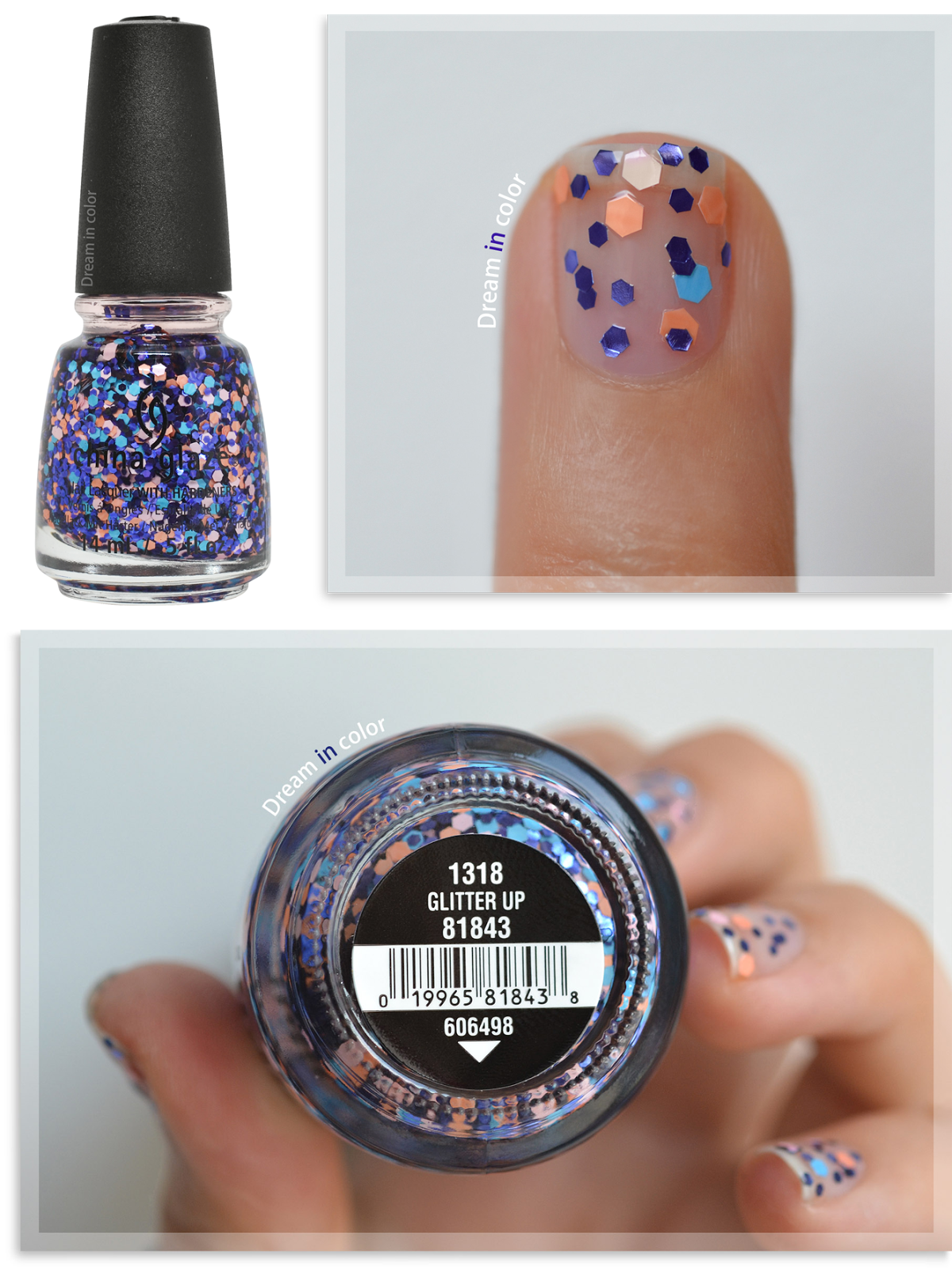 China Glaze Glitter up