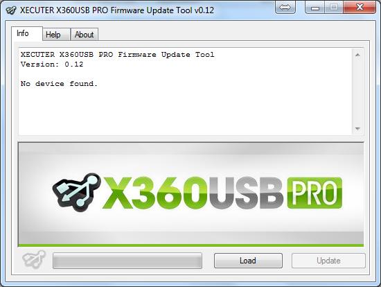 Xecuter x360usb firmware updater v0 12