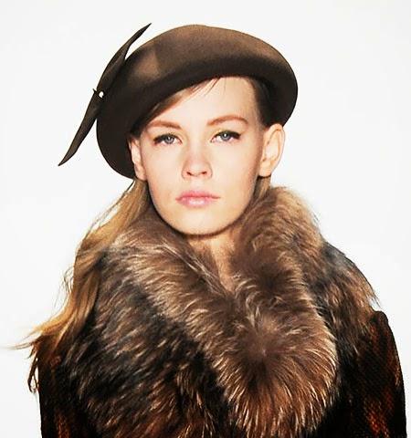 Идеи за носене на зимно палто с различни зимни шапки