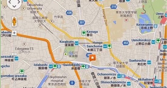 Detail ASOBono Tokyo Dome City Location Map  Tokyo City Airport Metro Subway...