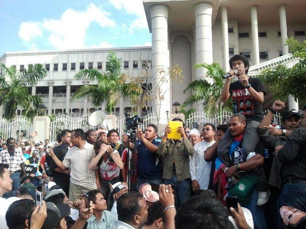 adam adli 9 januari gambar mahkamah Sekitar Perhimpunan Bebas keputusan kes liwat Anwar Ibrahim 901.jpg