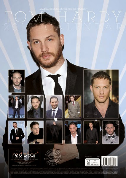 Calendario de Pared 2015 Tom Hardy
