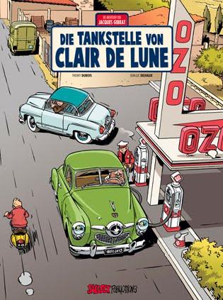 Die tankstelle von Clair de lune
