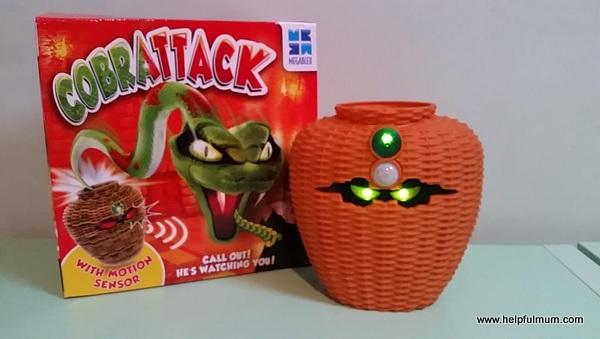 Cobra attack green eyes