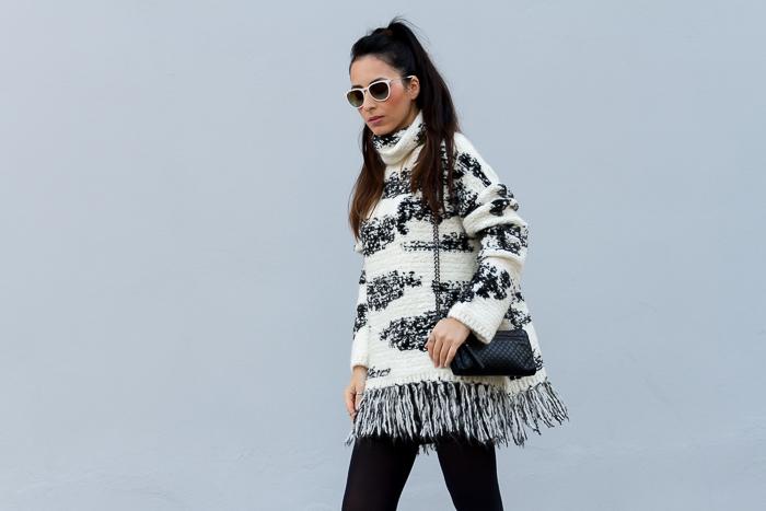 Blogger de Valencia con look para el frio