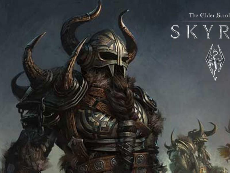 Skyrim High Elf Warrior