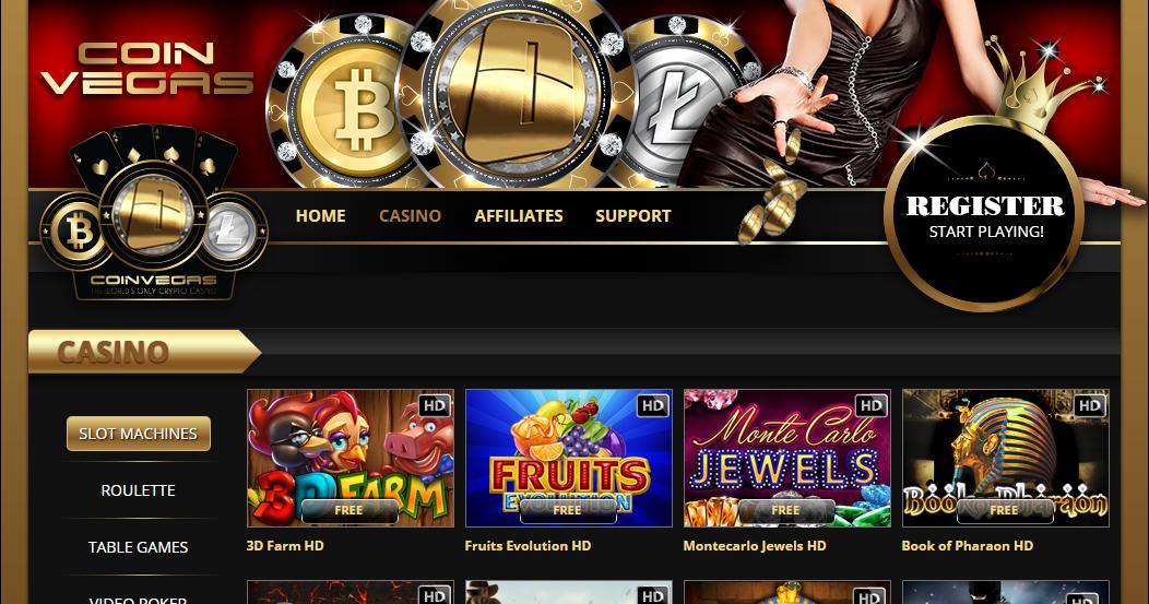 казино на криптовалюты