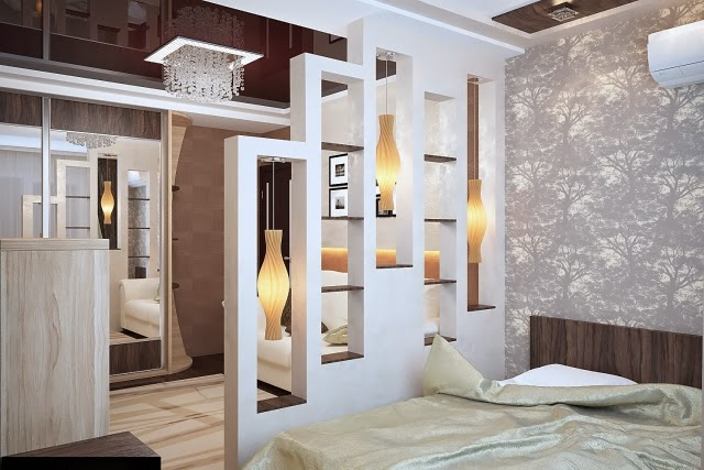 bedroom divider ideas