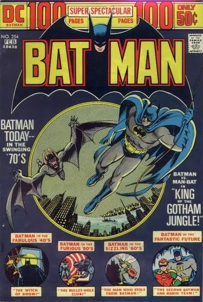 Batman #254, 100 pages, Manbat