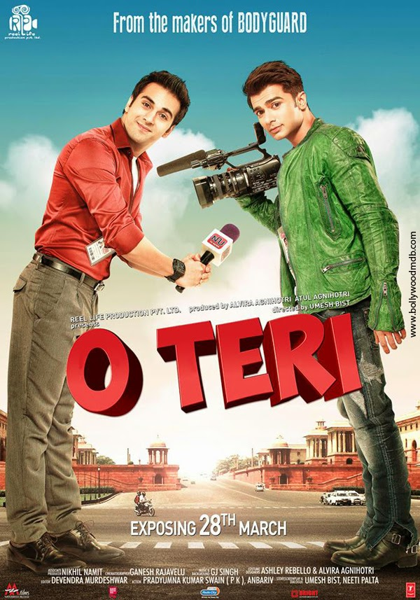 Watch O Teri (2014) Non Retail DVDRip Hindi Full Movie Watch Online For Free Download