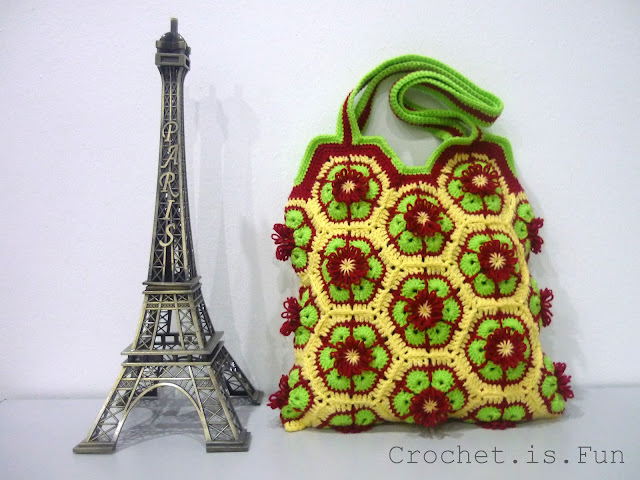 Crochetfun Tutorial African Flower Bag