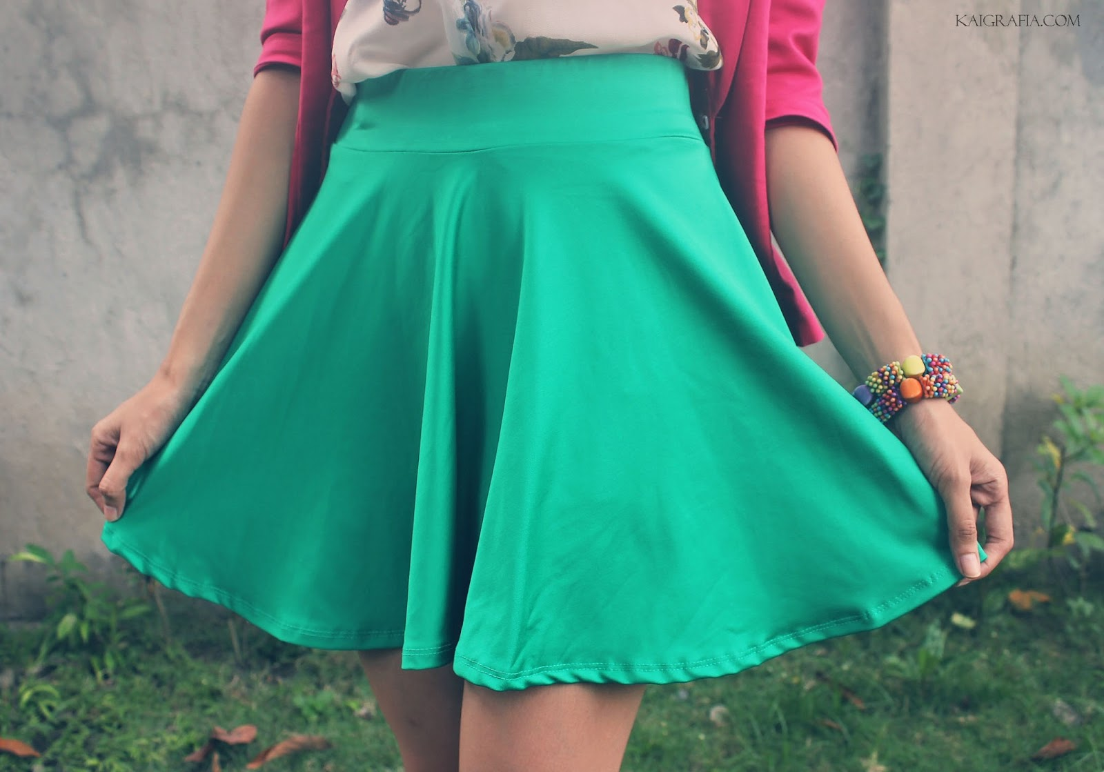 Colored Skater Skirt Philippines