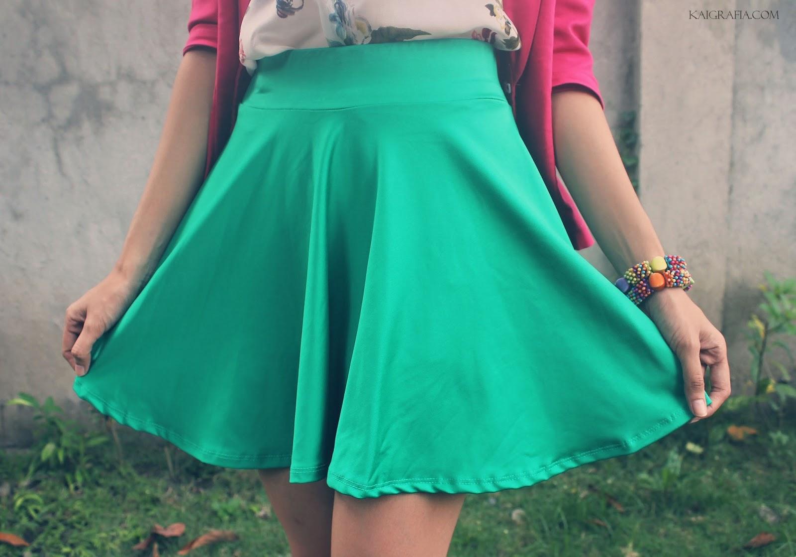 Colored Skater Skirt Philippines