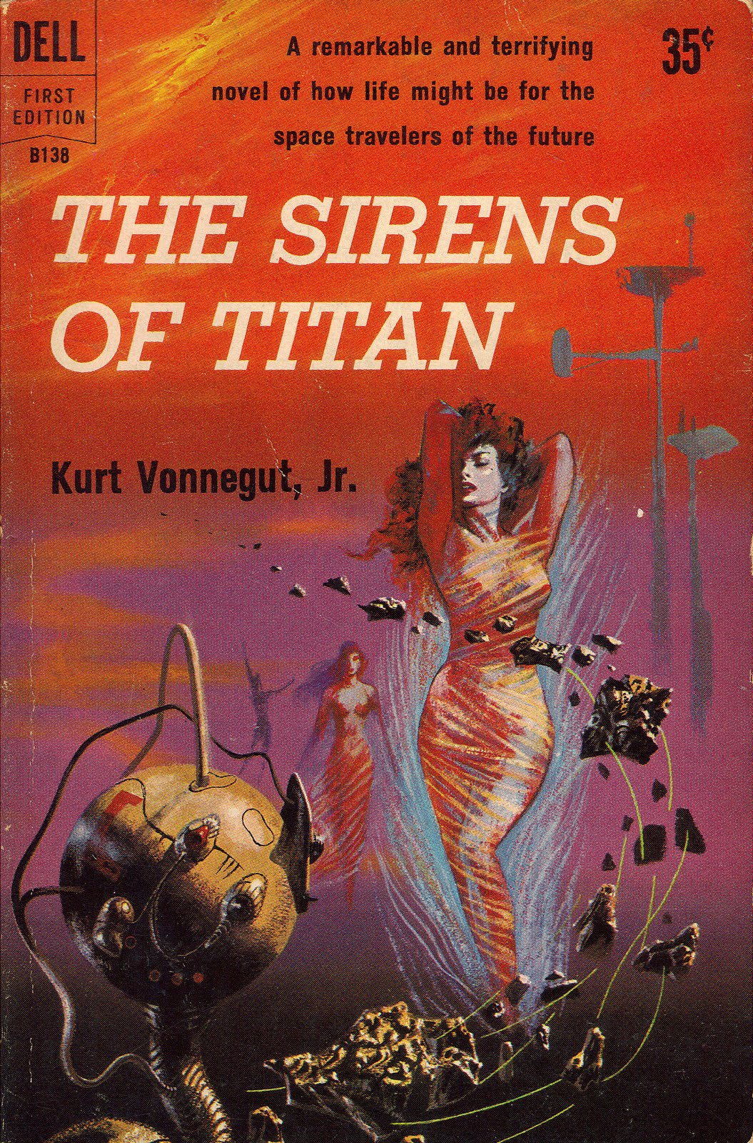sirens of titan Read the sirens of titan by kurt vonnegut by kurt vonnegut for free with a 30 day free trial read ebook on the web, ipad, iphone and android.