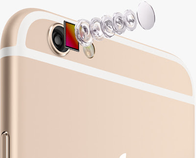 iPhone 6 camera elements