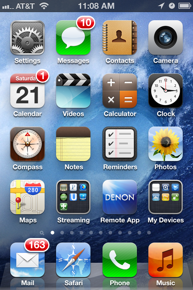 Disruptive Technology Review: How to do an iPhone screen capture?