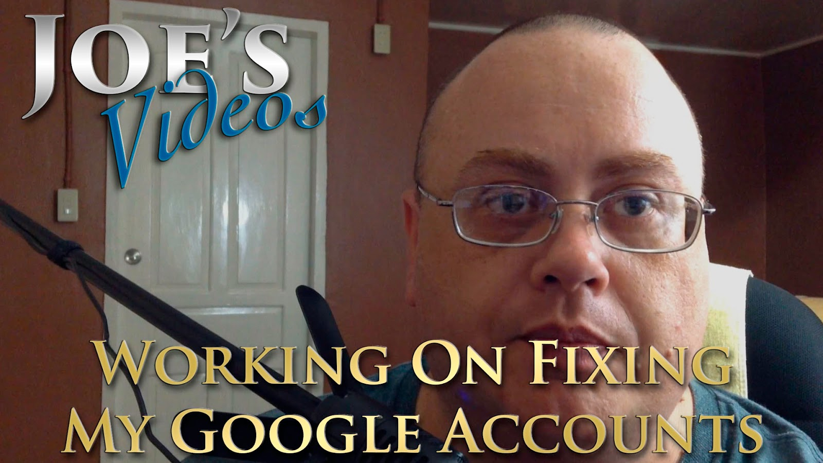 Working On Fixing My Google Accounts