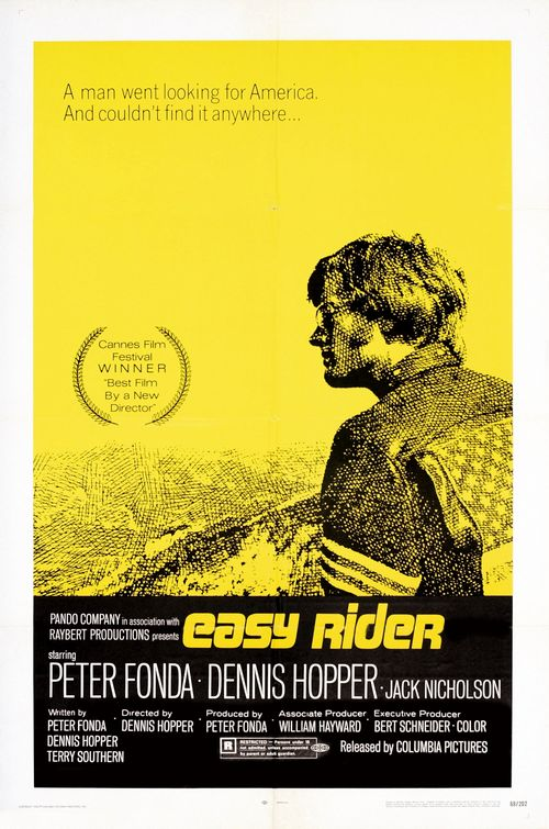 Between the Seats: BBS Productions Presents: Easy Rider Easy Rider Movie Poster
