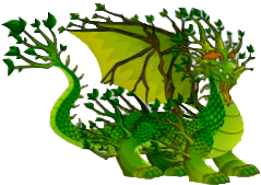 dragon bosque profundo adulto