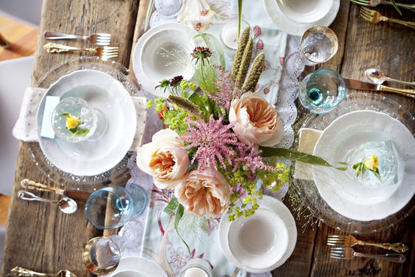 Katie And Jono 39 S Wedding Table Setting Ideas