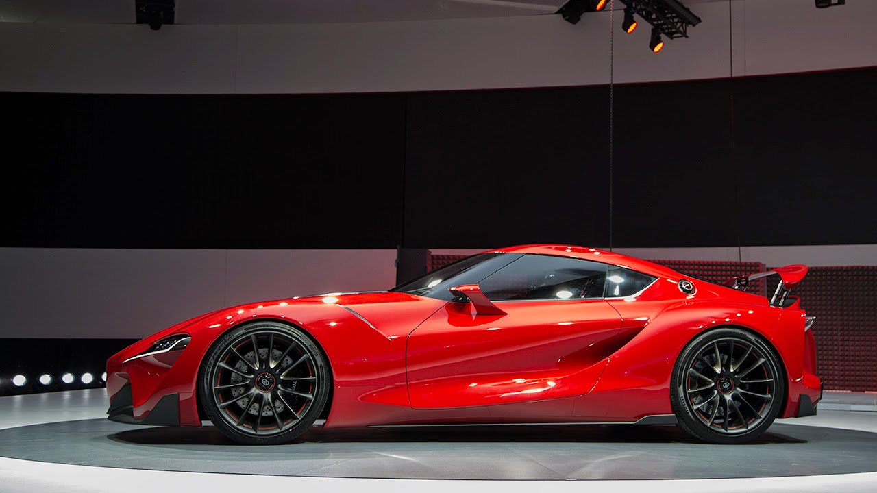 "Toyota FT1 ""OMG"" !!: Toyota FT1 RED"