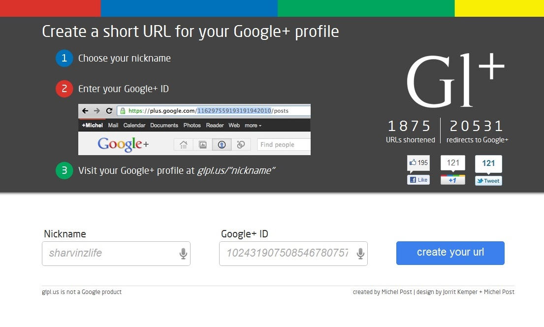 how to make a custom your profile picture on google
