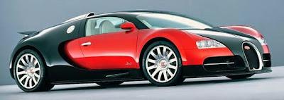 Bugatti Veyron EB 16,4 - Top kecepatan 254.04 mph