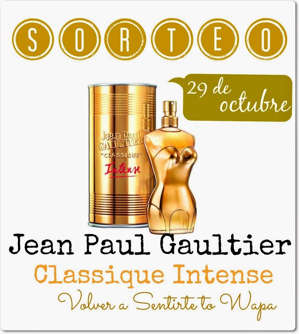 Sorteo Jean Paul Gaultier Classique Intense y Volver a Sentirte to Wapa