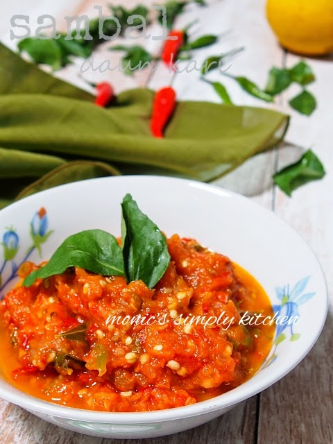 curry leaves sambal