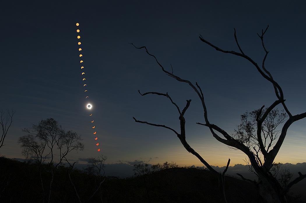 Moon shadow sequence earth blog