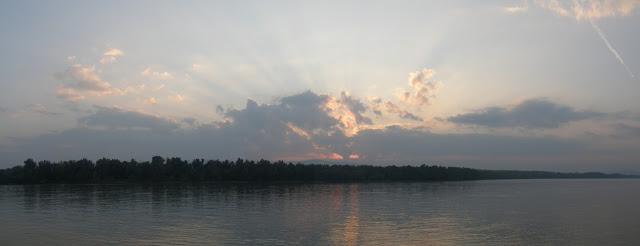 Hungary, Magyarország, Vác, naplemente, sunset