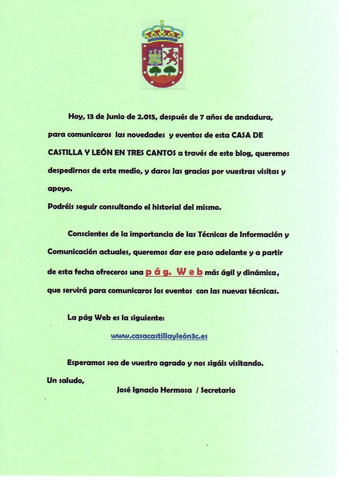 CASA DE CASTILLA Y LEÓN EN TRES CANTOS (MADRID)