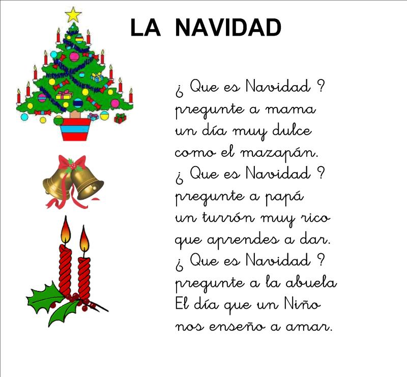 Clase de elena 4 a os poes a de navidad - Postales de navidad con fotos de ninos ...