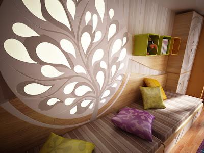 Modern Genç Odasi Modelleri ve Planlari