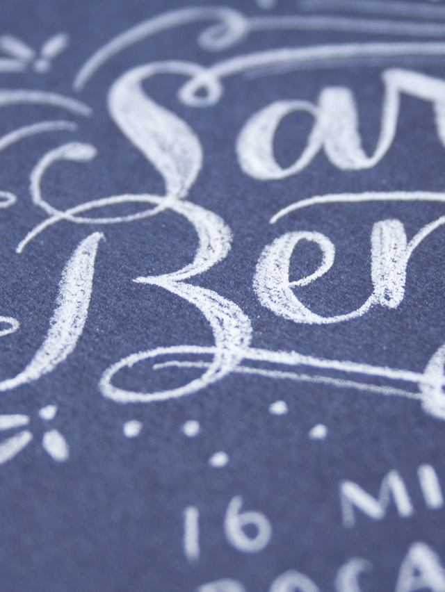 alisaburke: lettering with makewells: dress up your mail