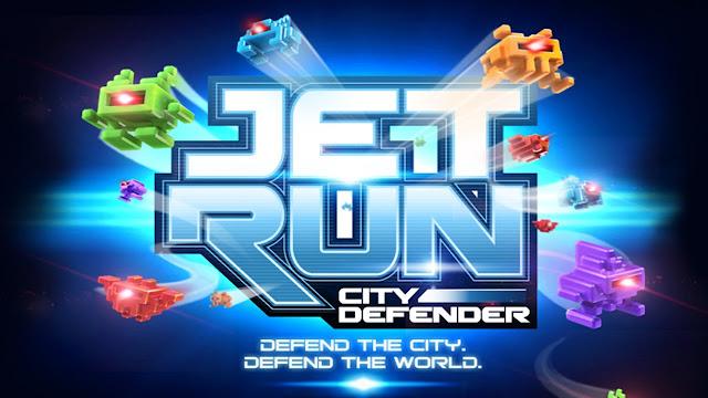 Download Jet Run City Defender v1.32 APK (Mod Money) Data Obb Full