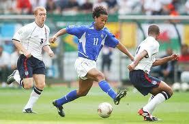 Brasil 2x1 Inglaterra - 2002
