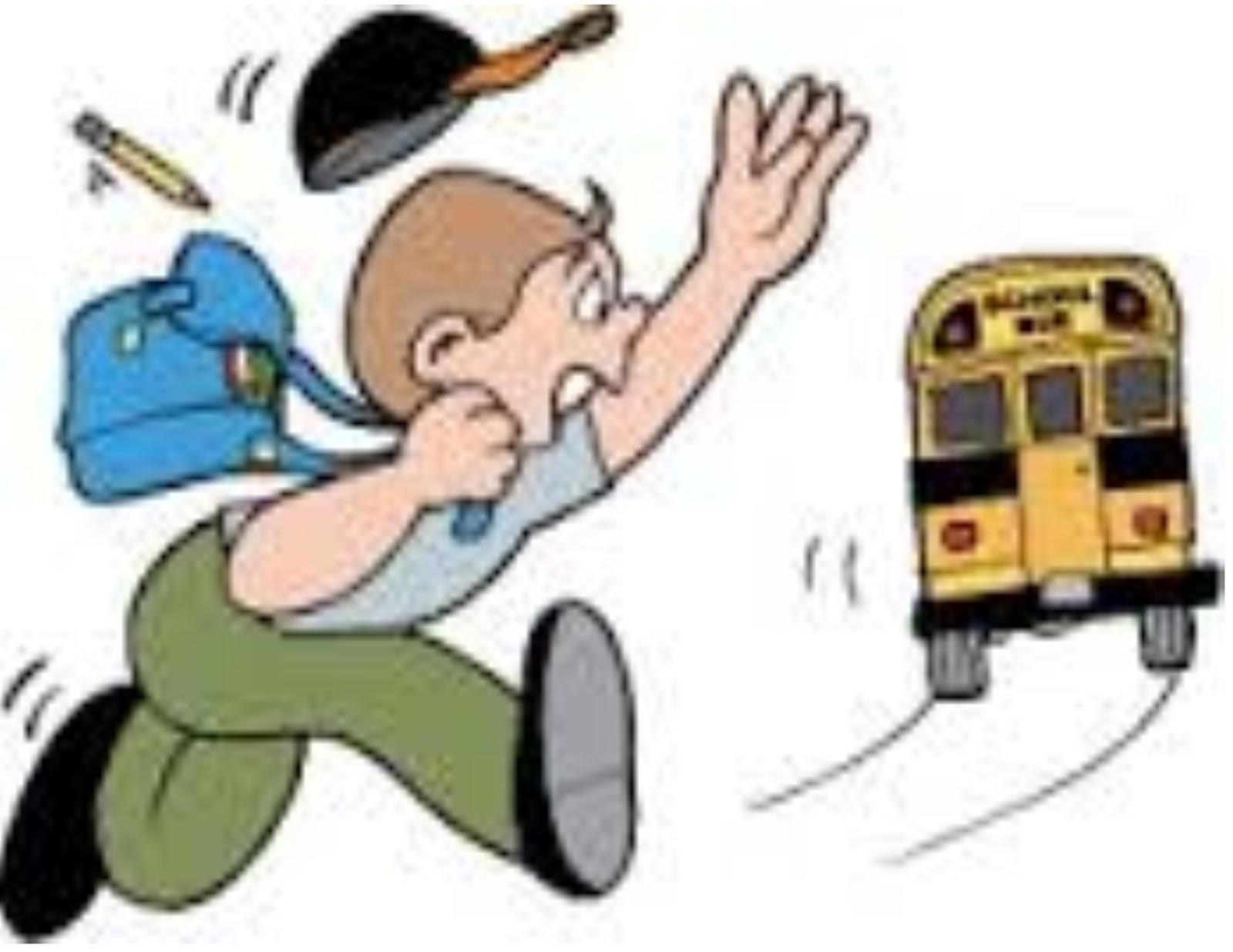И так бегала домой и боялась что бы успеть на автобус.