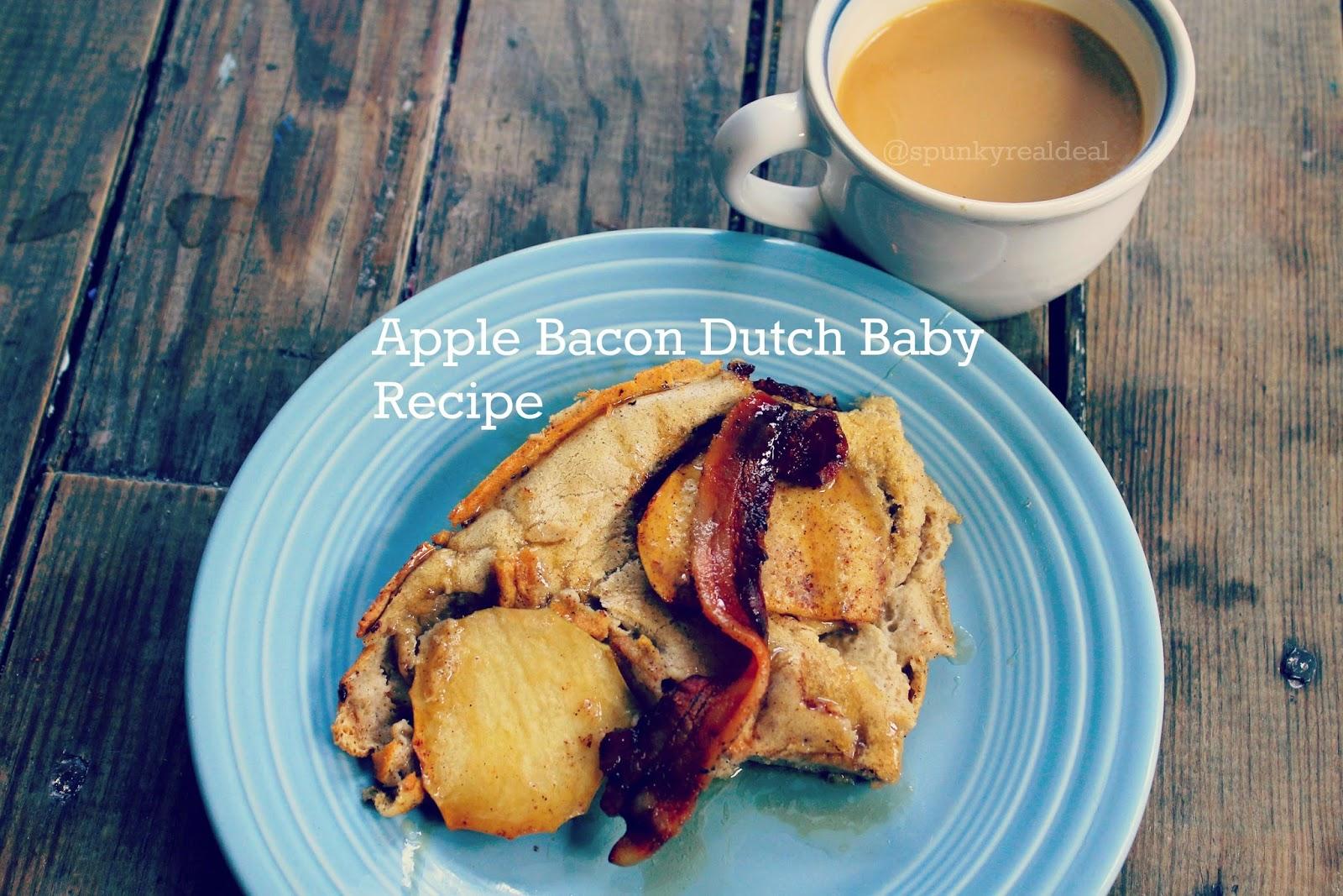 Apple Bacon Dutch Baby Recipe #nomnom