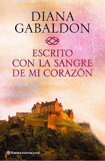 Escrito con la sangre de mi corazón de Diana Gabaldon