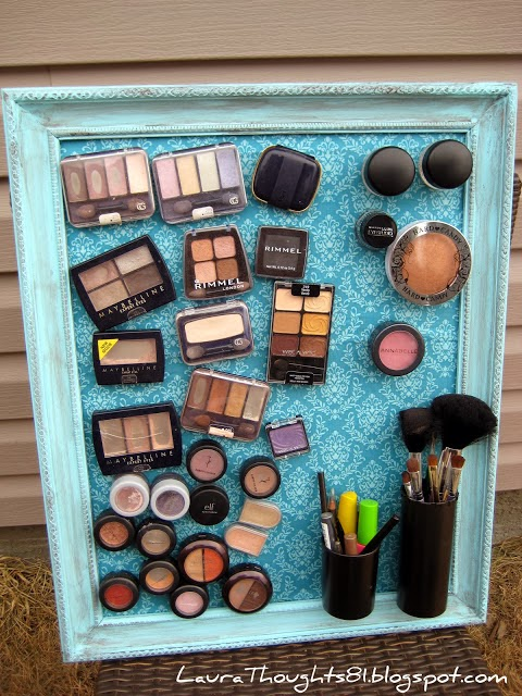 Magnetic make up organizer :: OrganizingMadeFun.com