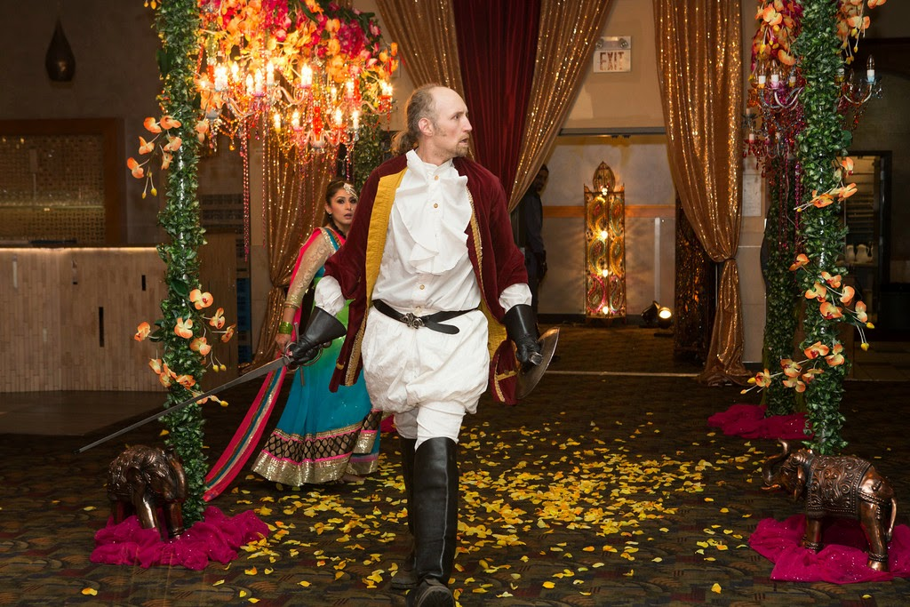 indian wedding, mehndi, decor, entertainment, sword fighting