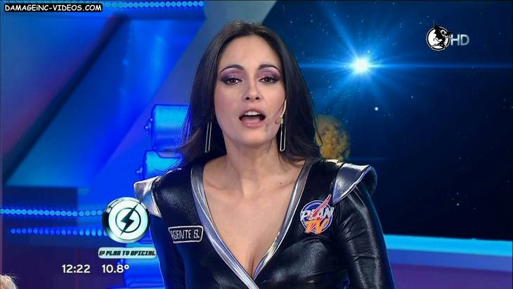 Gabriela Sobrado TV star cleavage in HD video