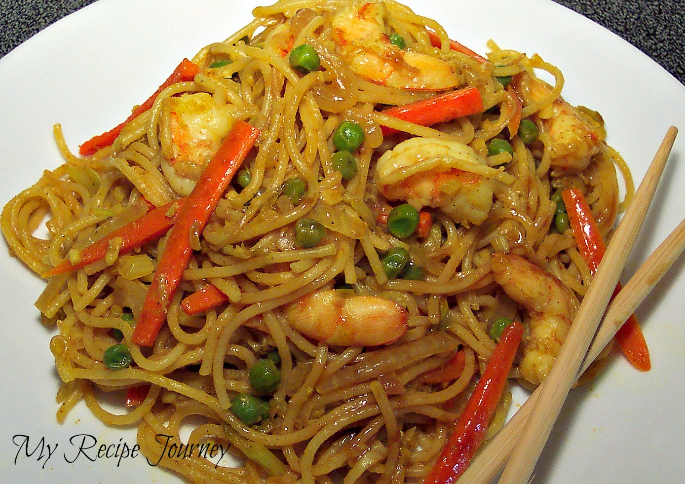 singapore noodles with shrimp 1 2 lb thin spaghetti or rice noodles 1 ...