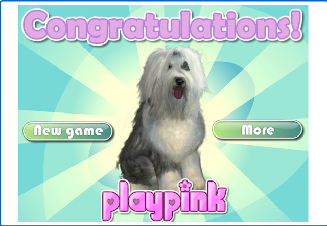 winning at virtual puppy game