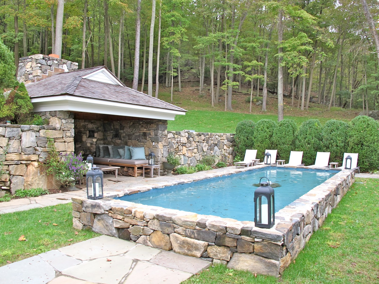 Pool ideas on pinterest semi inground pools in ground for Semi inground pool