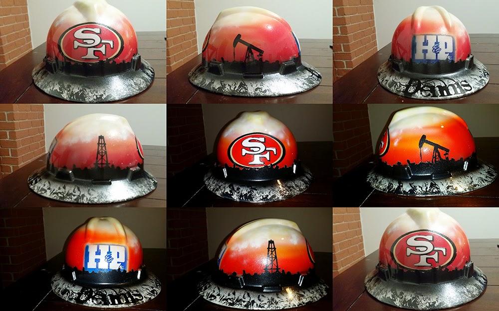 west texas oilfield hard hat