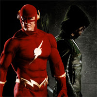 Flecha Verde y Flash en Arrow (2ª Temporada)